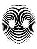 hipnotyczny tatuaż Obrazy Stock