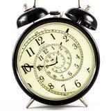Hipnotyczny zegar Fotografia Stock