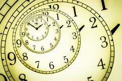 Hipnotyczny zegar Zdjęcia Royalty Free