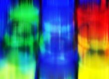 Hipnotycznych dyskoteka cieni projekta phosphorescent żywi pastelowi punkty, abstrakcjonistyczny figlarnie tło Obraz Royalty Free