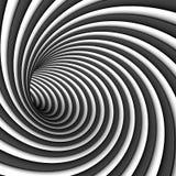 Hipnozy czarny i biały tło Fotografia Stock