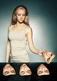 Hipocresía Fotos de archivo