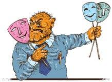 Hipokryzja (wektor) ilustracja wektor