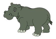 Hipopótamo Foto de Stock Royalty Free