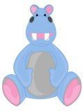 Hipopótamo azul Fotografia de Stock Royalty Free