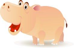 Hipopótamo bonito Fotos de Stock