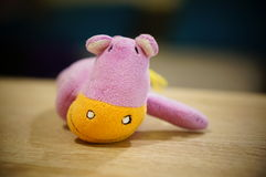 Hipopótamo de la felpa Foto de archivo libre de regalías