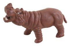 Hipopótamo del juguete Imagen de archivo libre de regalías