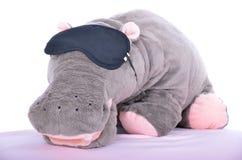 Hipopotam zabawka Obraz Royalty Free