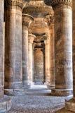 Hipostilo no templo de Khnum, Egipto Imagens de Stock Royalty Free