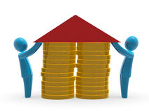 Hipoteca Fotos de Stock
