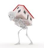 Hipoteca - compromiso muerto Imagenes de archivo