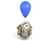 Hipoteca de balão Fotos de Stock