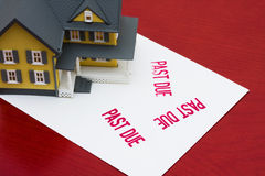 Hipoteca expirado Imagem de Stock