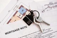 - hipoteczną wiadomość Fotografia Stock