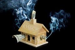 hipoteczne kryzys serie Obrazy Royalty Free