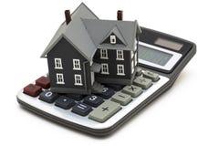 hipoteka kalkulator Zdjęcia Royalty Free