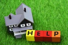 hipoteka pomocy Obrazy Royalty Free