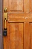 Hipoteque o fechamento da execução duma hipoteca da crise Imagens de Stock Royalty Free