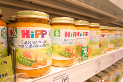 Hipp baby food Stock Image