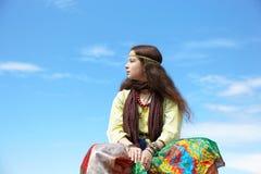 hippie γυναίκα στοκ φωτογραφία με δικαίωμα ελεύθερης χρήσης