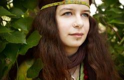 hippie γυναίκα στοκ φωτογραφίες με δικαίωμα ελεύθερης χρήσης