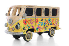 hippie φορτηγό Στοκ φωτογραφία με δικαίωμα ελεύθερης χρήσης