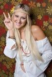 hippie девушки Стоковые Изображения