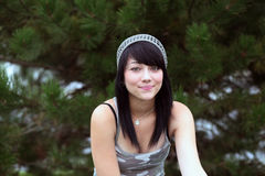 hippie девушки стоковая фотография