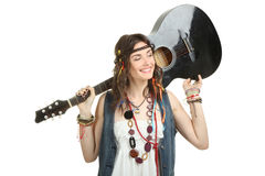 Hippie девушки Стоковые Фото