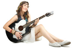Hippie девушки Стоковое фото RF