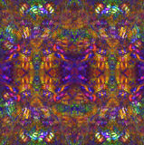 hippie предпосылки Стоковая Фотография