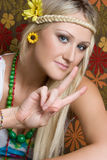 Hippie Royalty Free Stock Photo