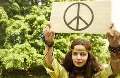 Hippie στοκ φωτογραφία