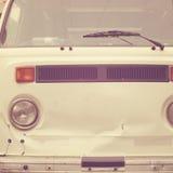 Hippie branco Van Imagem de Stock Royalty Free