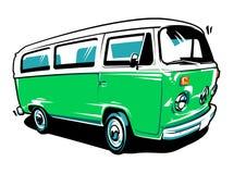 Free Hippie Car Vector Art Royalty Free Stock Photography - 116062267