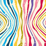 Hippie Colorful striped pattern background. Vector Stock Photo