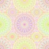 Hippie colorido Mandala Pattern Fotos de archivo