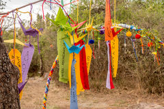 A hippie decoration. Royalty Free Stock Photography