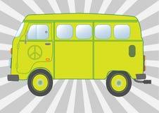 Hippie der Bus Lizenzfreies Stockfoto