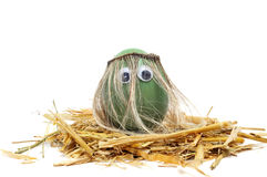 Hippie easter egg Stock Photography