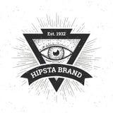 Hippie-Fahne vektor abbildung