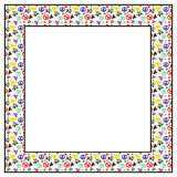 Hippie frame Stock Photo