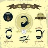Hippie-Friseur der Männer Lizenzfreie Stockbilder
