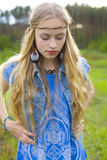 Hippie girl Royalty Free Stock Photography