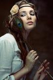 Hippie girl Royalty Free Stock Image