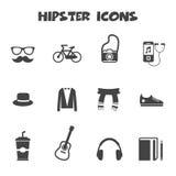 Hippie-Ikonen Lizenzfreie Stockfotografie