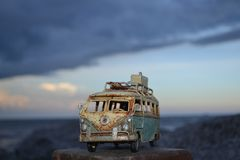 Hippie Kombi Стоковое фото RF