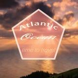 Hippie l'Océan Atlantique Images stock