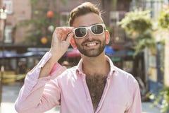 Hippie-Männer lizenzfreie stockfotos